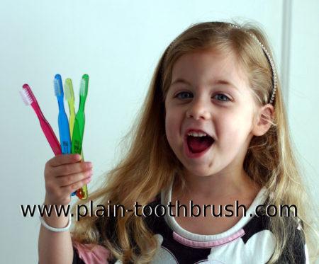 Plain Toothbrush for Kids