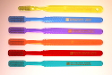Plain Toothbrush - SAMPLE PACK - 6-pack