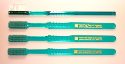 Plain Toothbrush - EXTRA HARD - 4-pack
