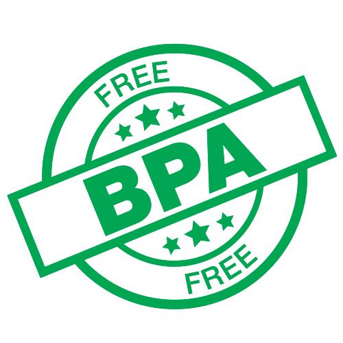 BPA-Free Product - Certified No Bisphenol A